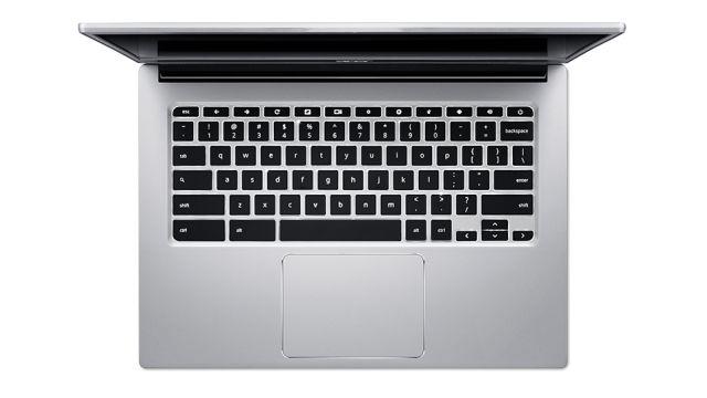 Acer Chromebook 514 ma wygodną klawiaturę i touchpad