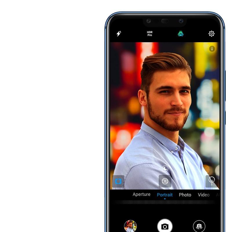Huawei Mate 20 Lite Ai mistrz selfie