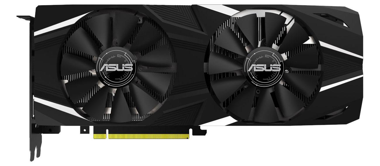 ASUS GeForce RTX 2080 Ti DUAL OC 11GB GDDR6 wygląd
