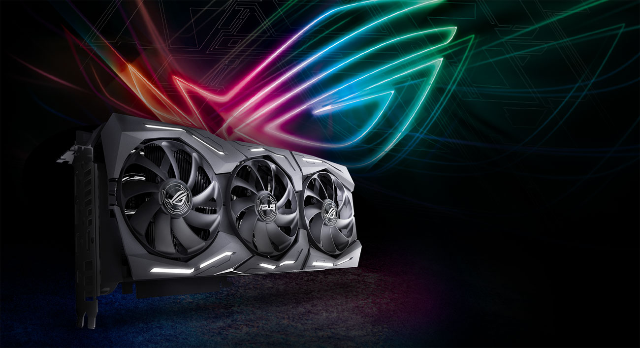 ASUS GeForce RTX 2080 ROG STRIX 8GB GDDR6 design