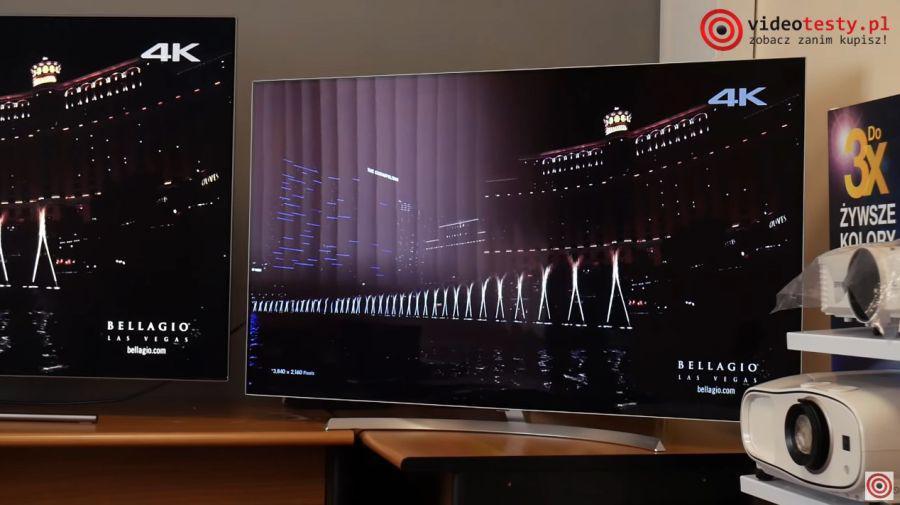 czerń na ekranie telewizora oled