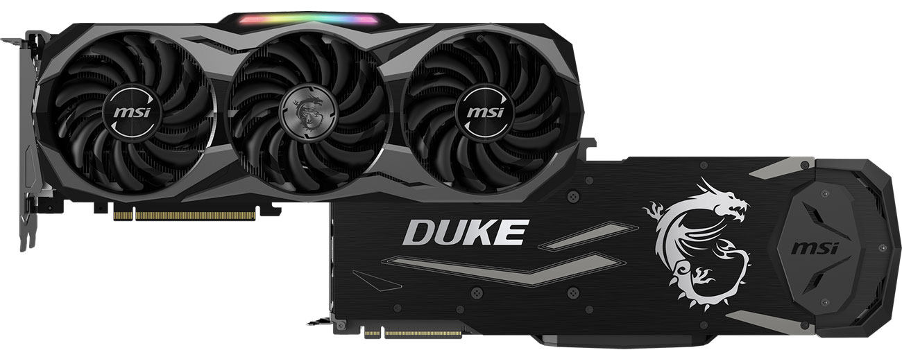 MSI GeForce RTX 2080 DUKE 8GB GDDR6 design