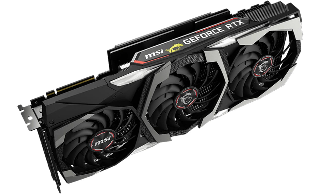 MSI GeForce RTX 2080 Ti GAMING X TRIO 11GB GDDR6 design