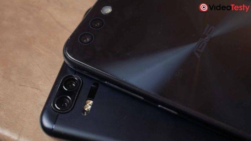 podówjne obiektywy smartfonów