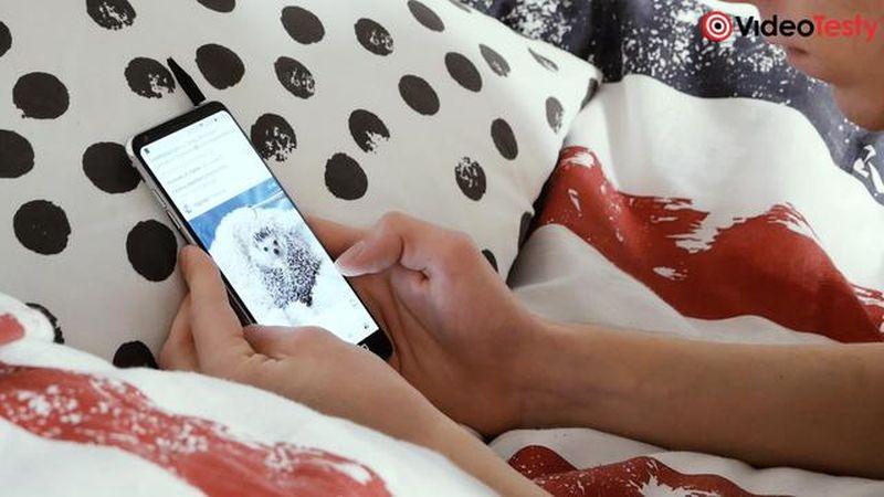 używanie smartfona