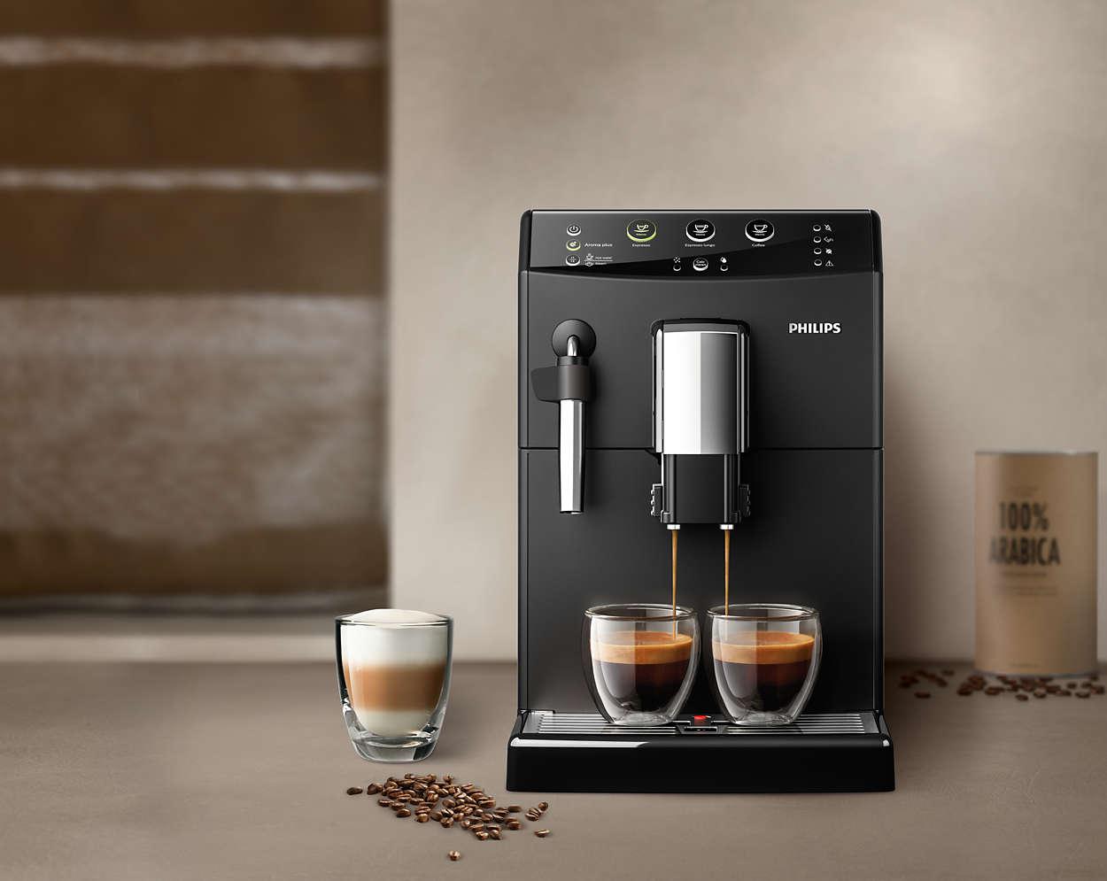 Philips 3000 HD8827 09 parzenie kawy