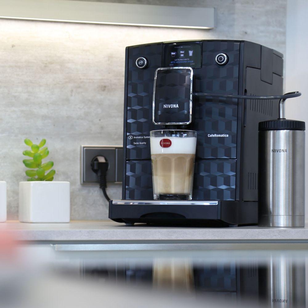 przyrządzanie kawy w Nivona CafeRomatica 788