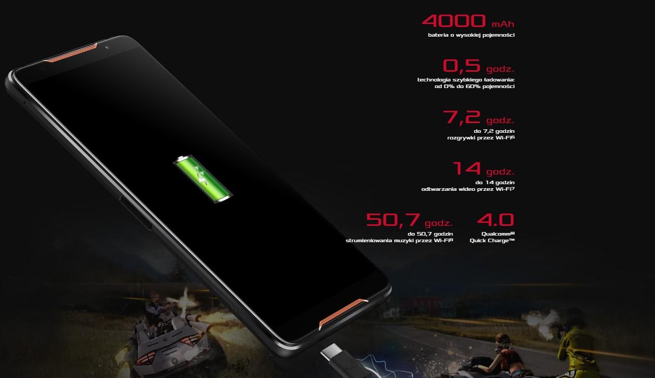 Asus ROG bateria