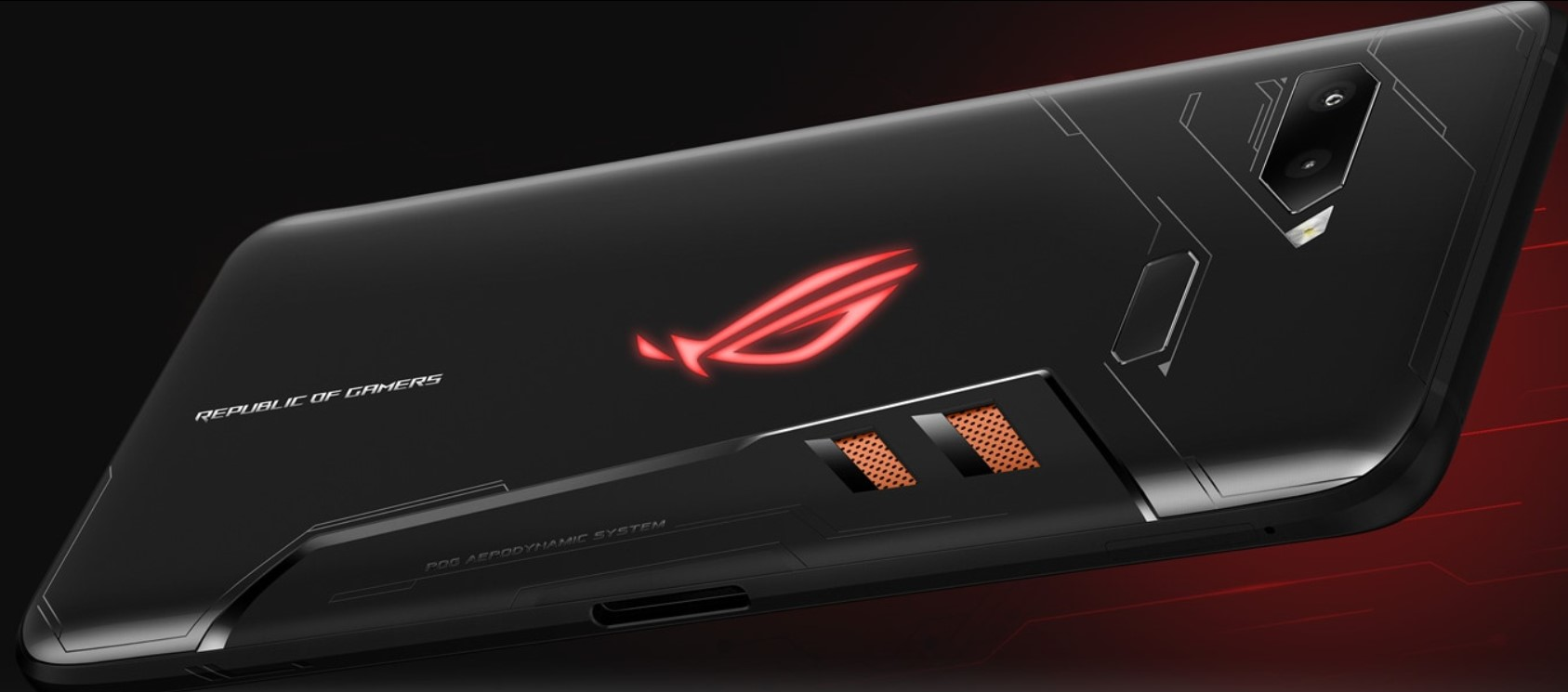 Asus ROG Phone 128 GB wykonanie
