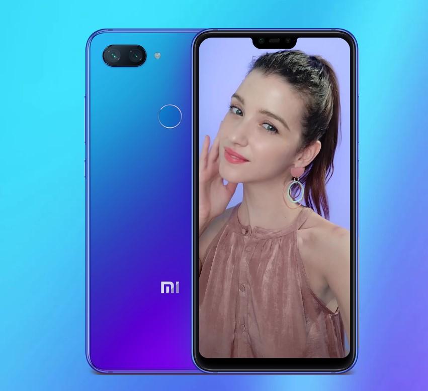 Xiaomi Mi 8 Lite makijaz