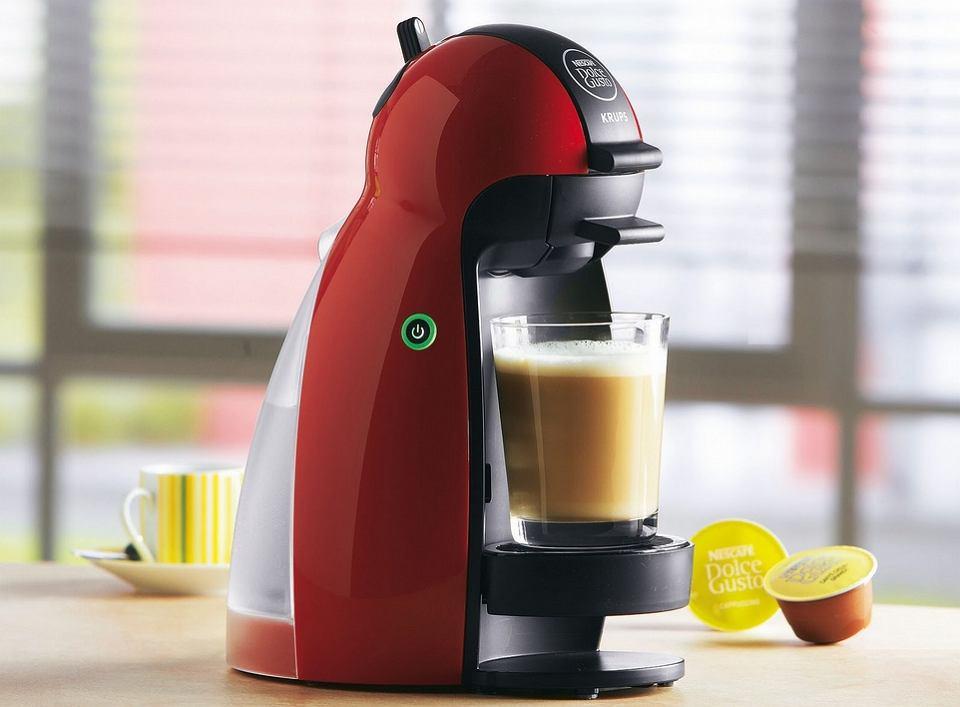 kawa z kapsułkowego ekspresu