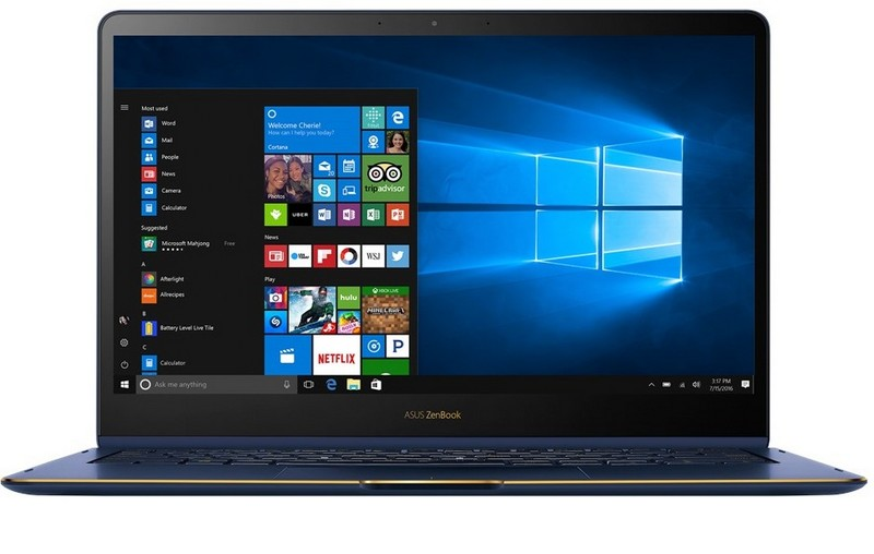 laptop biznesowy asus zenbook ultrabook