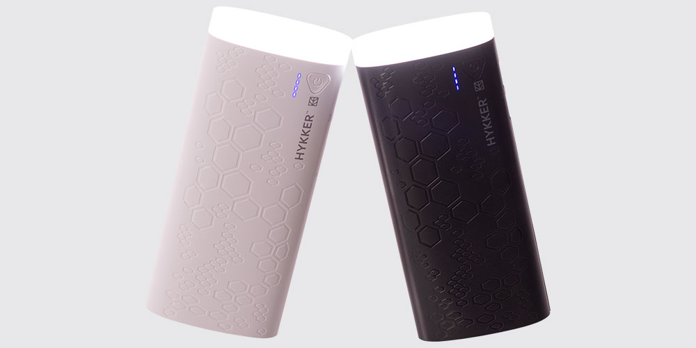 Hykker Power Bank 10000 mAh wygląd