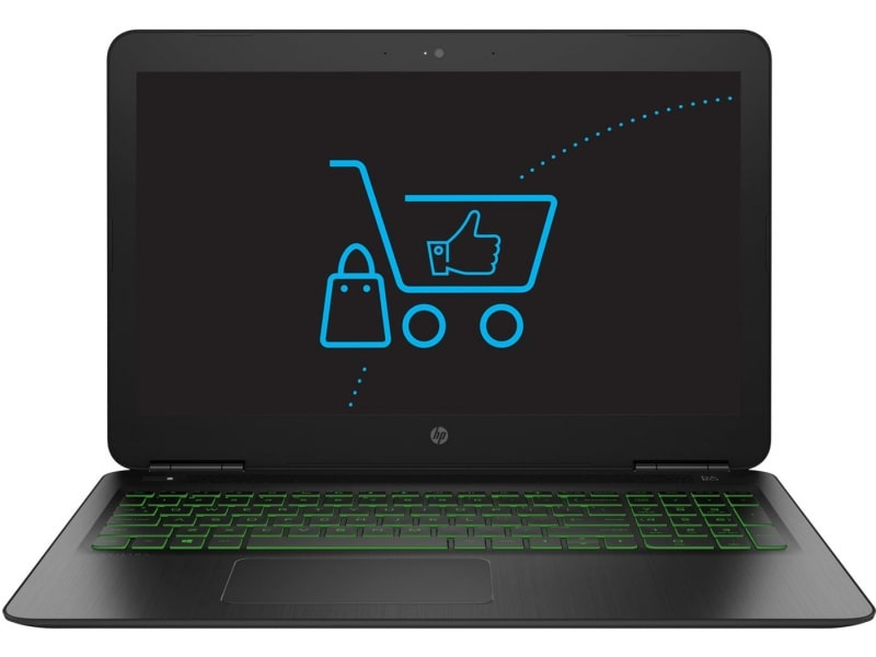 HP Pavilion Power i5-8300H 8GB 1TB GTX1050 design
