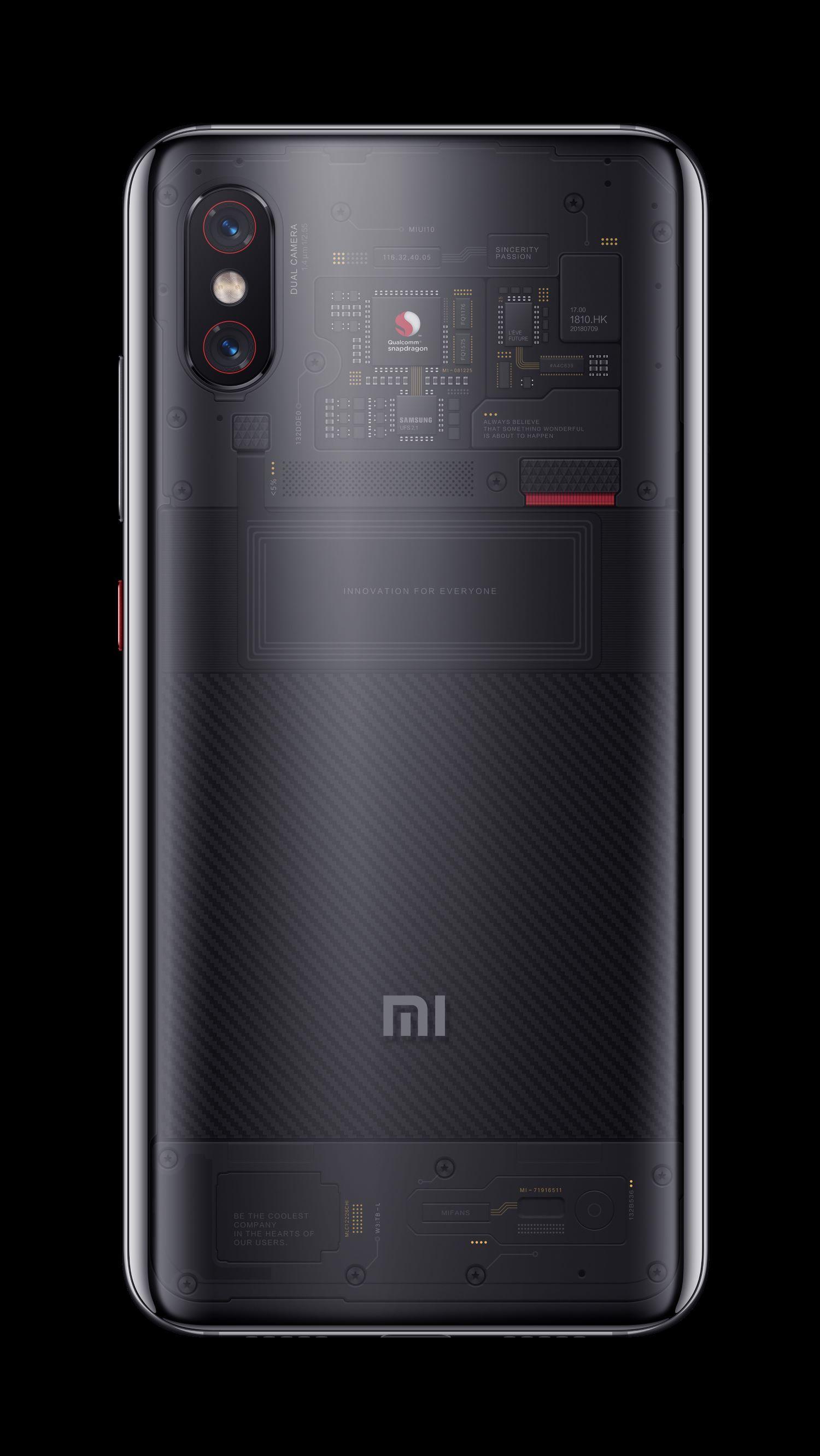 Xiaomi Mi 8 Pro tył