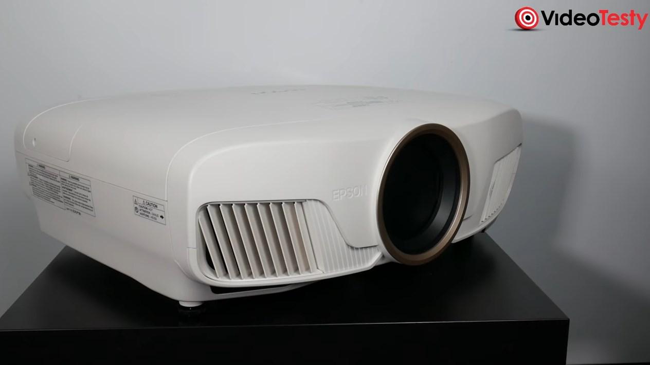 Epson EH-TW7400 wygląd z boku