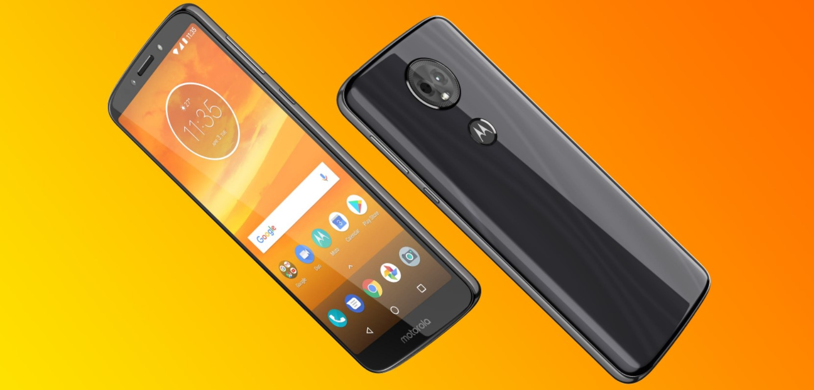 Motorola moto e5 plus design