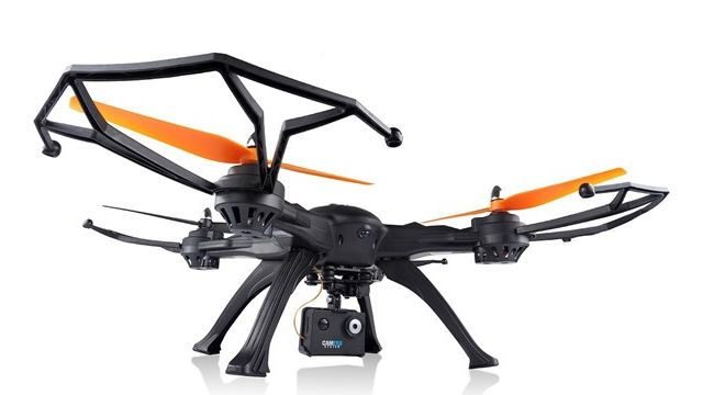 Goclever Drone Predator FPV PRO jest niezwykle stabilny podczas lotu