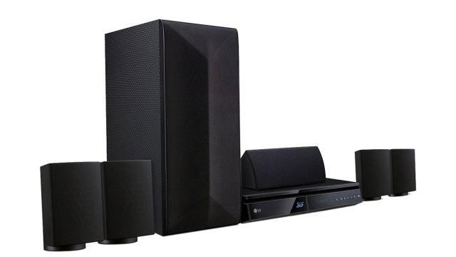 LG LHB625 pozwoli cieszyć się z oglądania filmów na Blue-ray