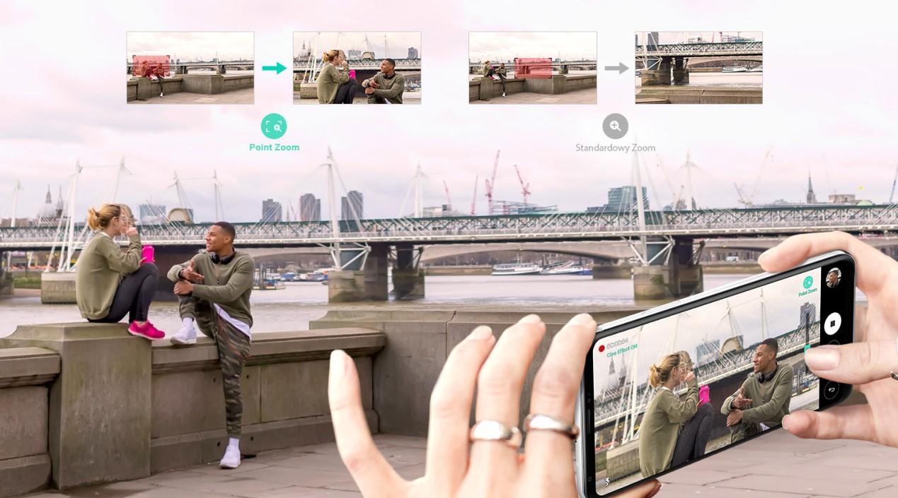 LG V30 zoom