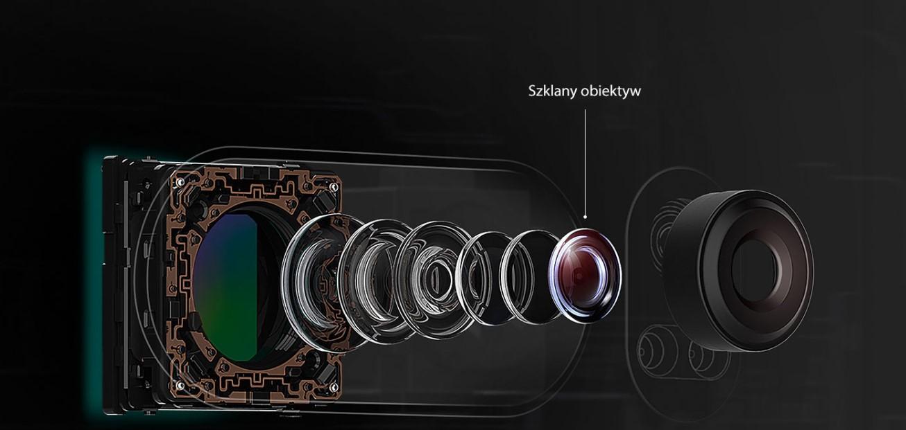 LG V30 szklany obiektyw