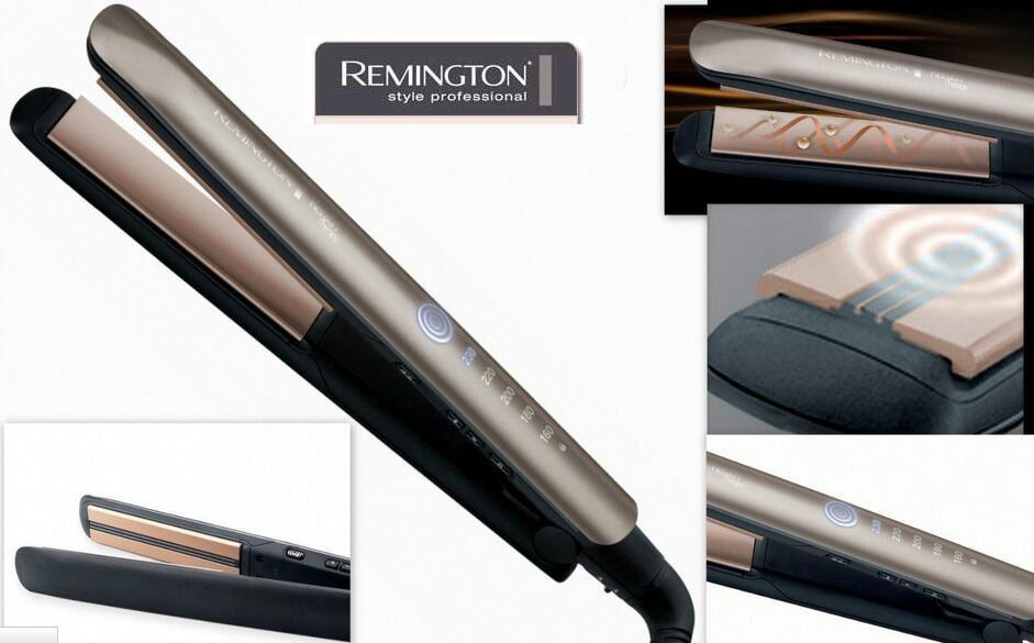 wygląd prostownicy firmy Remington i jej płytek