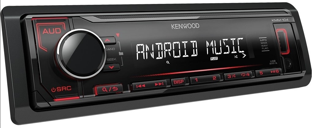 Kenwood KMM-104RY design