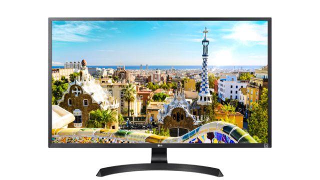LG 32UD59-B może pochwalić się wysoką jakością wykonania i designem