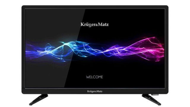 Kruger & Matz 22'' TELEWIZOR FULL HD DVBT2 to niedrogi i jakościowy model