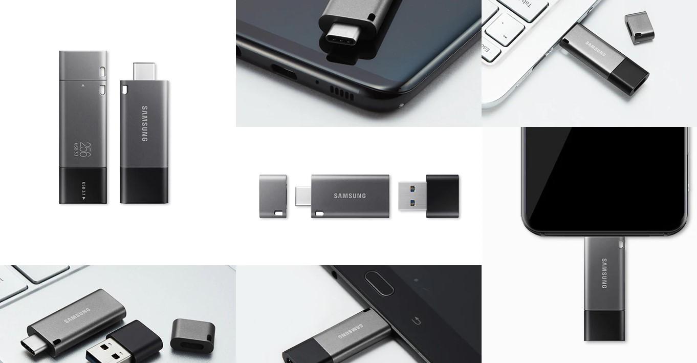 Samsung Duo z USB typu C