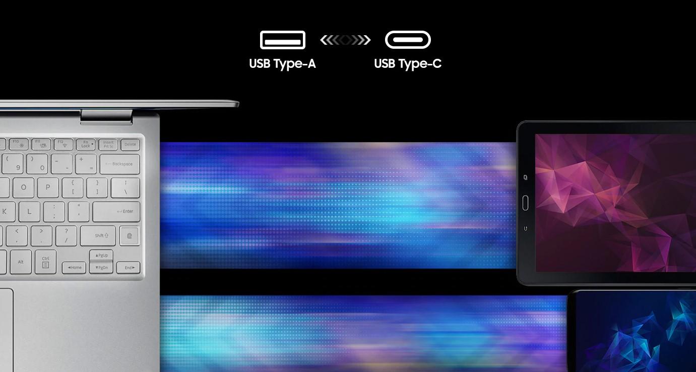 Samsung DUO Plus USB A USB C