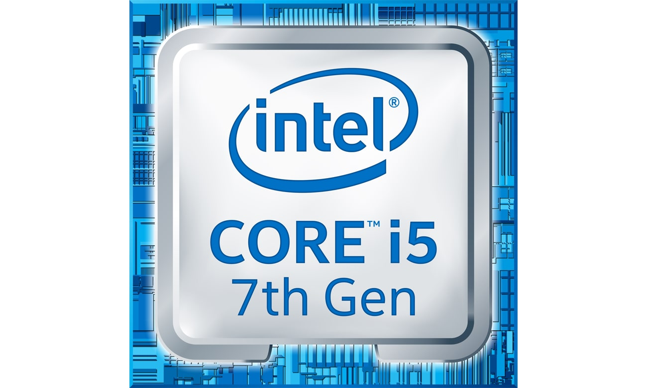 Intel Core i5-7400 etykieta
