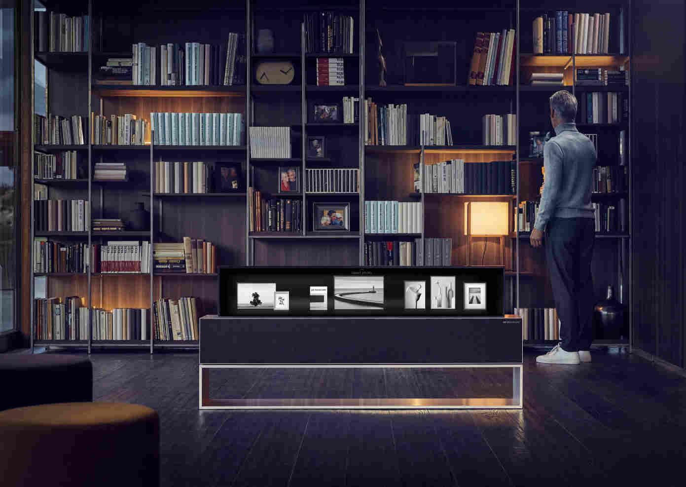 Prezentacja LG SIGNATURE OLED TV R