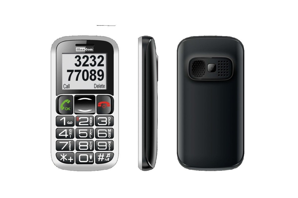 MaxCom MM 462 BB POLIPHONE/BIG BUTTON wygląd