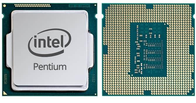 Front Procesora Intel Pentium G4560
