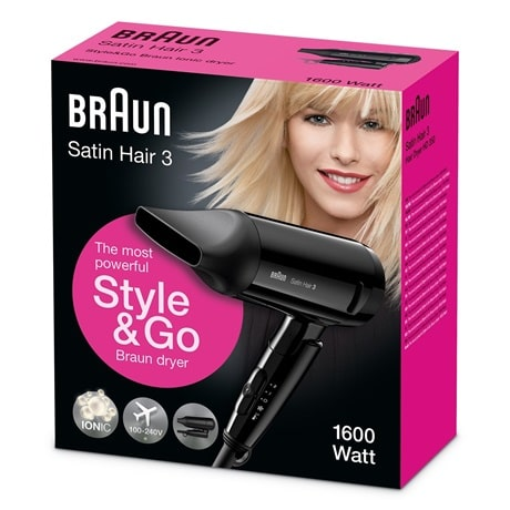 Braun Satin Hair 3 HD350 w pudełku