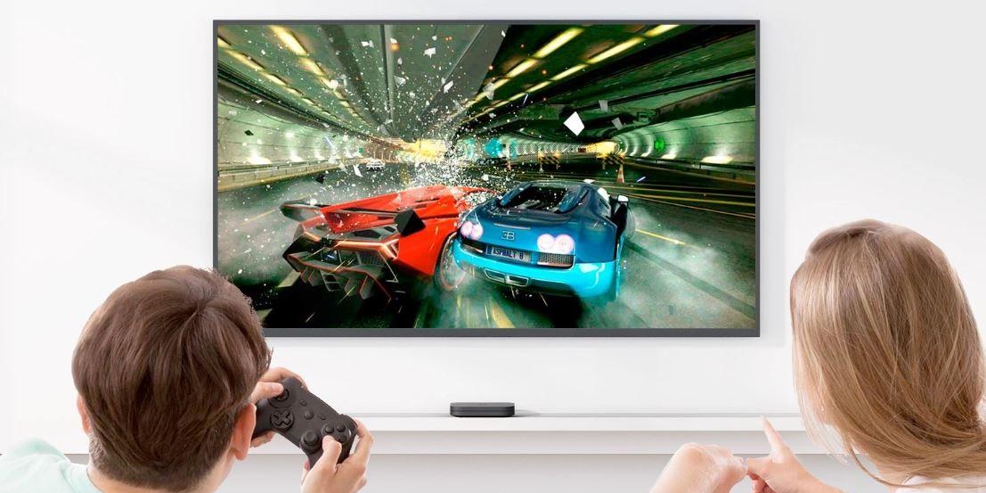 Gry na Mi Box S TV 4K