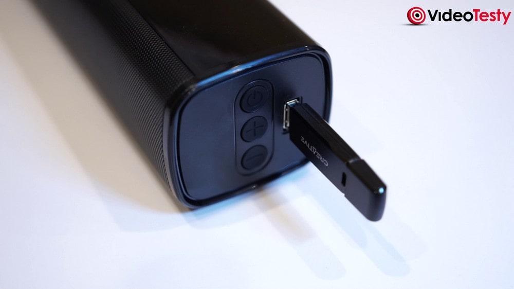Creative Stage 2.1 - odtwarzanie przez USB