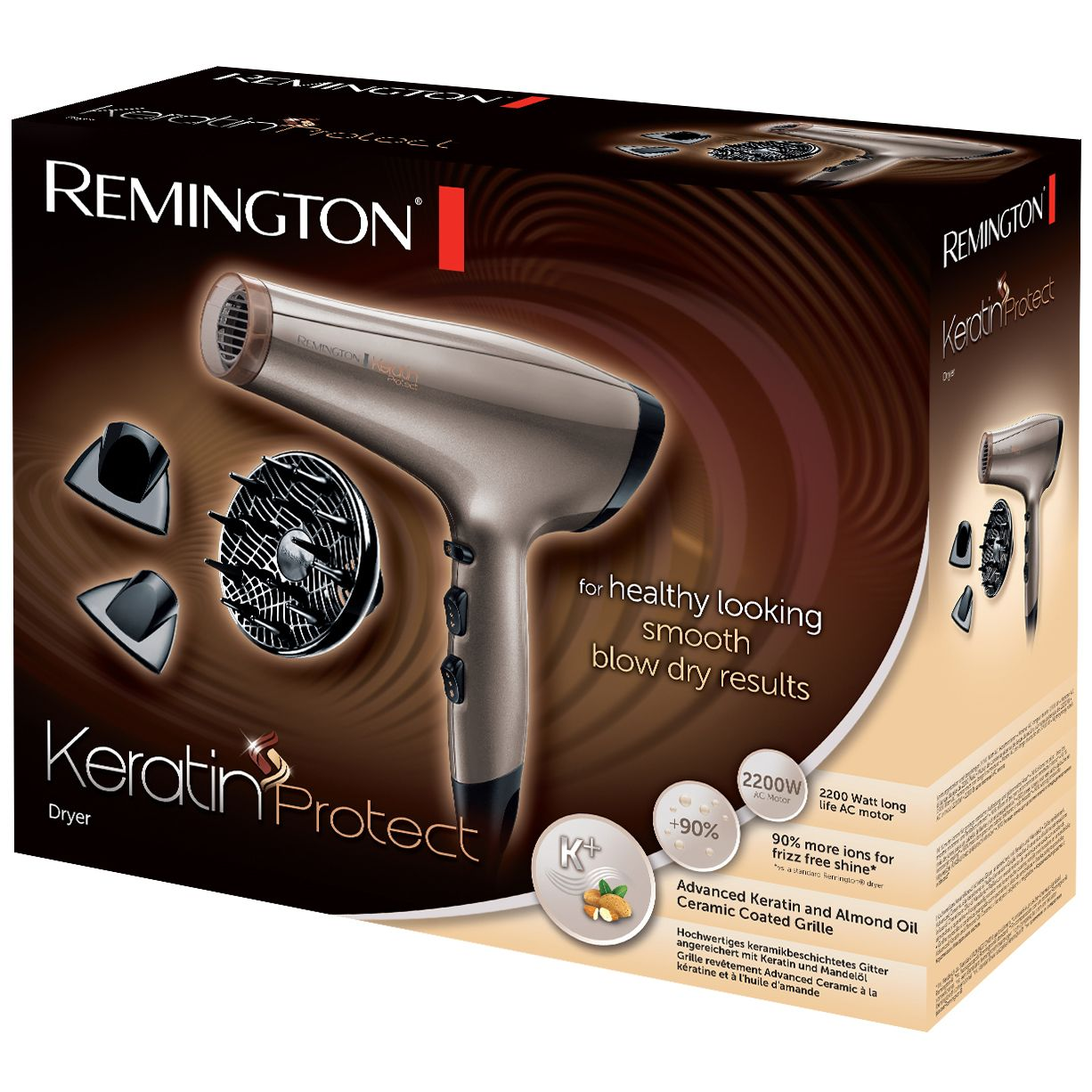 Remington Keratin Protect AC8002 w pudełku