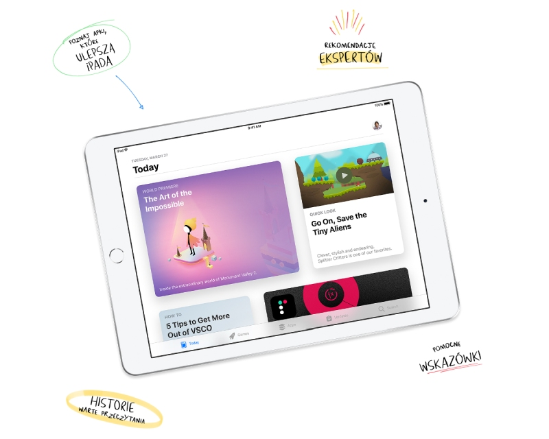 iPad aplikacje App Store