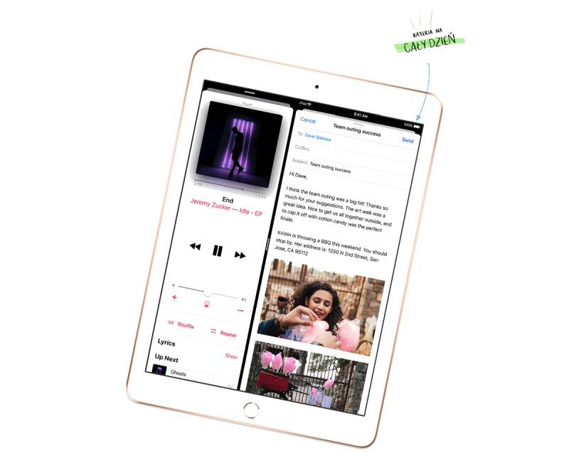 iPad bateria