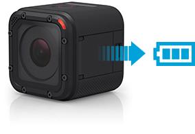 GoPro HERO Session posiada baterię