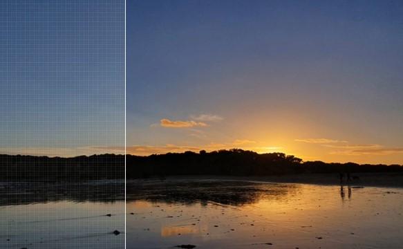 Samsung Galaxy S10 5G inteligentnie poprawia wygląd zdjęć