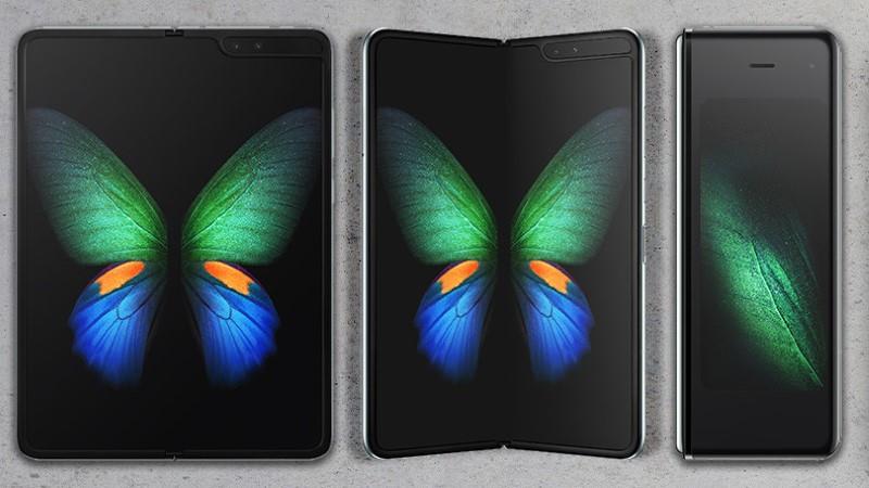 Samsung Galaxy Fold wyposażony jest w ekran Amoled