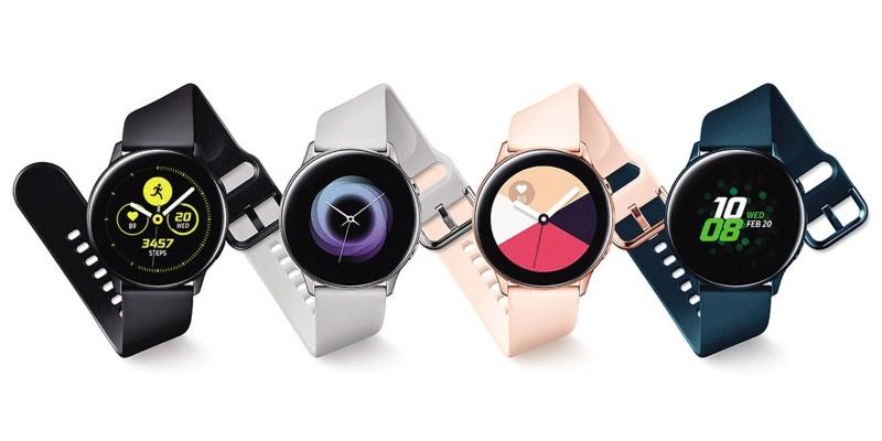 Samsung Galaxy Watch Active cechuje się nowoczesnym designem