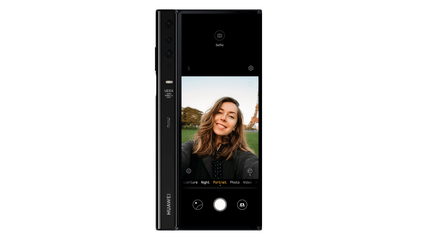Mate X do selfie wykorzysta kamerę z tyłu