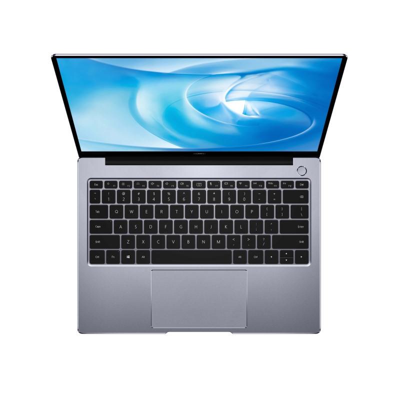 Huawei MateBook 14 wyposażony jest w świetną klawiaturę