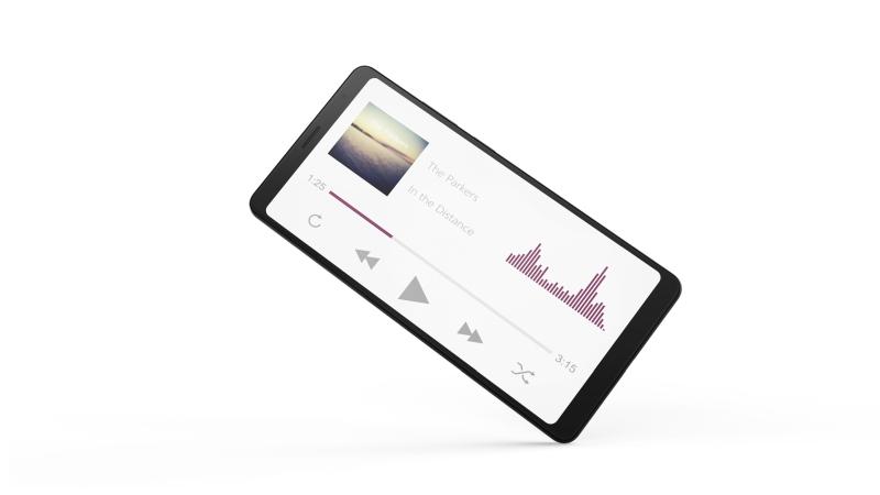 Lenovo Tab V7 - muzyka