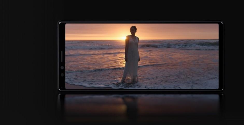 Xperia 1 ekran 4K