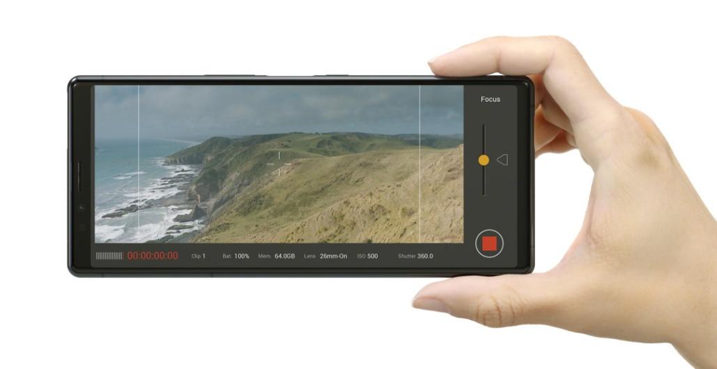 Xperia 1 nagrywanie panoramiczny